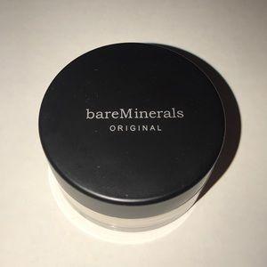 Bare minerals